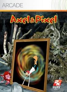 Carátula del juego Axel & Pixel
