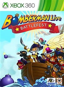 Carátula del juego Bomberman Battlefest