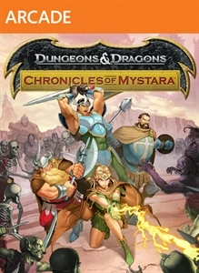 Carátula del juego D&D: Chronicles of Mystara