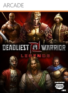 Carátula del juego Deadliest Warrior: Legends