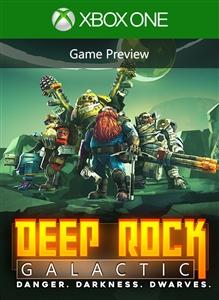 Carátula del juego Deep Rock Galactic