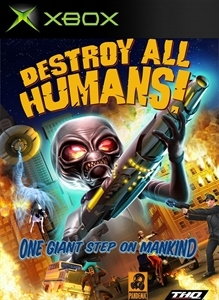 Carátula del juego Destroy All Humans!