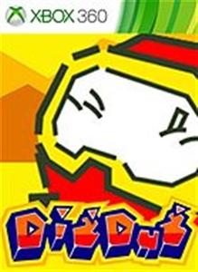 Carátula del juego DIG DUG