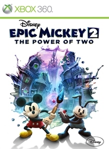 Carátula del juego Disney Epic Mickey 2: The Power of Two