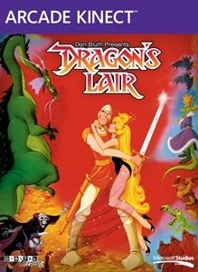 Carátula del juego Dragon's Lair