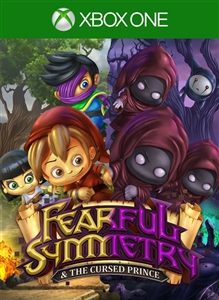 Carátula del juego Fearful Symmetry & the Cursed Prince