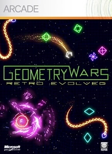 Carátula del juego Geometry Wars Evolved