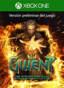 Carátula del juego GWENT: The Witcher Card Game