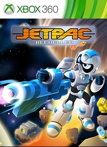 Carátula del juego Jetpac Refuelled