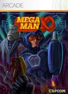 Carátula del juego MEGA MAN 10