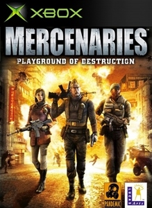 Carátula del juego Mercenaries: Playground of Destruction