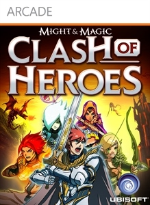 Carátula del juego Might & Magic Clash of Heroes