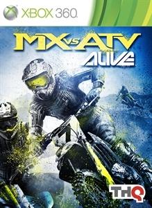 Carátula del juego MX vs. ATV Alive