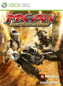 Carátula del juego MX vs. ATV Supercross