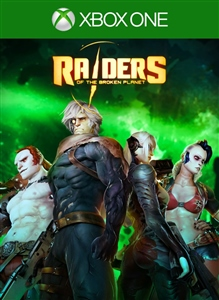 Carátula del juego Raiders of the Broken Planet - Eternal Soldier Campaign