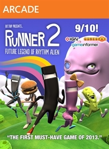 Carátula del juego Runner2: Future Legend of Rhythm Alien