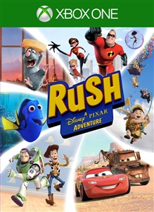 Carátula del juego RUSH: A Disney • PIXAR Adventure
