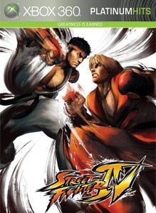 Carátula del juego STREET FIGHTER IV
