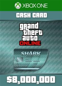 Carátula del juego Tarjeta de dinero Tiburón megalodonte