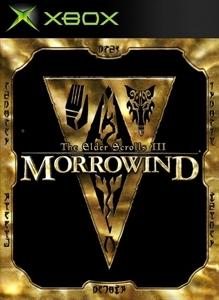 Carátula del juego The Elder Scrolls III: Morrowind