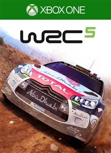 Carátula del juego WRC 5 FIA World Rally Championship