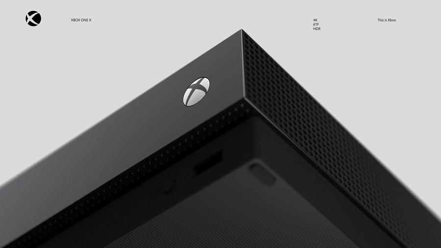 Xbox One X Diseño Desarrollo Microsoft