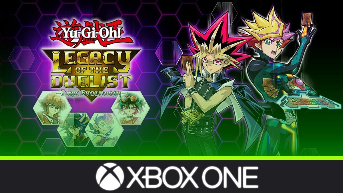 Más de 10.000 cartas, Yu-Gi-Oh! Legacy of the Duelist: Link Evolution llega a Xbox One
