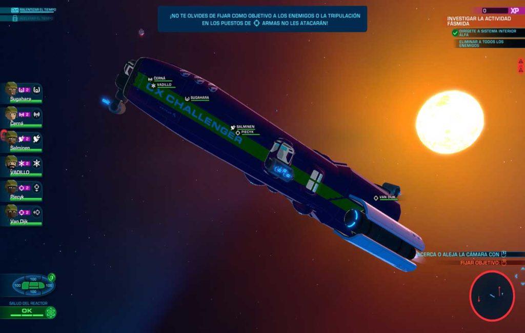 Y la CX Challenger sigue su vuelo por el Universo
