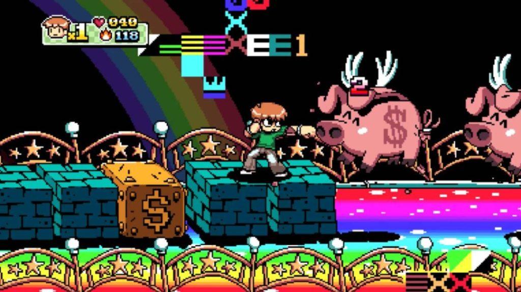 Scott Pilgrim vs The World The Game Complete Edition referencia
