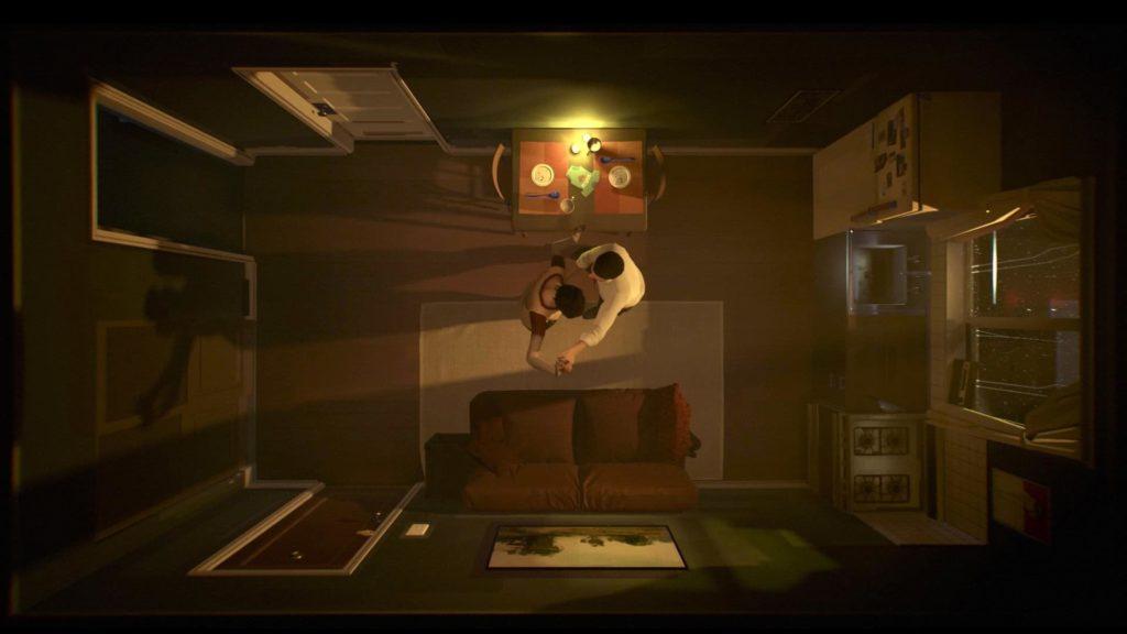 12 Minutes tiene lugar en un pequeño apartamento en el que el jugador debe atravesar diferentes eventos en un ciclo de 12 minutos para resolver un misterio.
