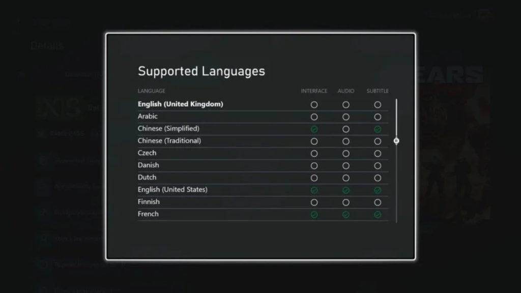 soporte de idiomas