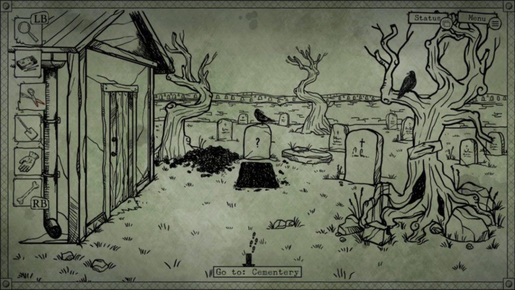 Bad Dream Coma cementerio