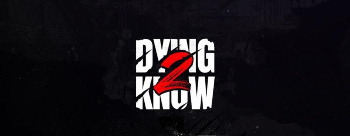 Dying Know portada