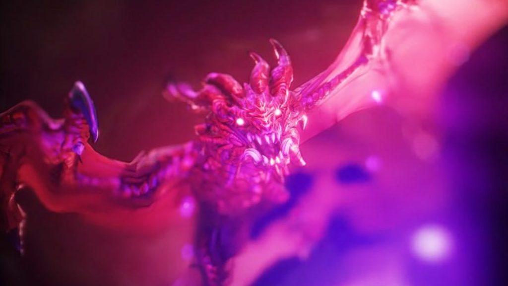 Wonderlands dragón