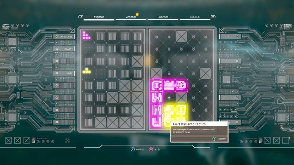 Ghostrunner Tetris