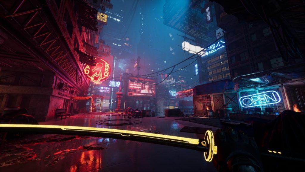 Ghostrunner ciudad