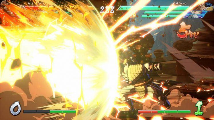 Nappa Dragon Ball Fighter Z