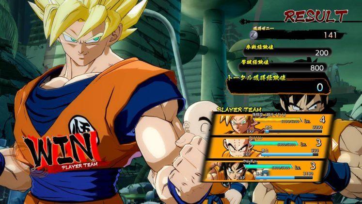Modo historia Dragon Ball Fighter Z
