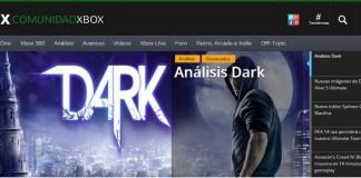nueva web Comunidad Xbox