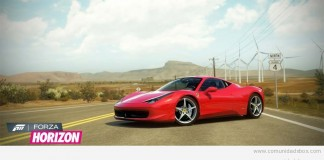 Forza Horizon Ferrari Italia Wallpaper