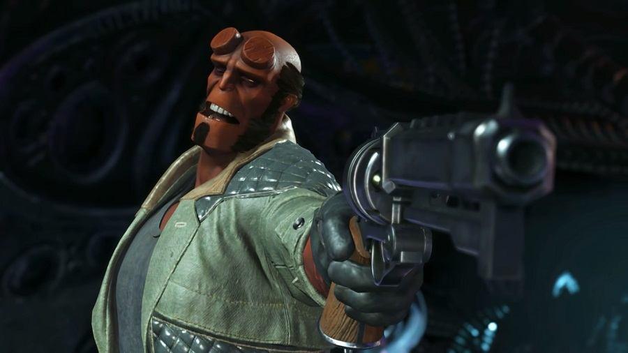 Hellboy injustice 2 trailer