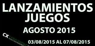 Lanzamiento Agosto 2015