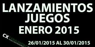 Lanzamientos Enero 2015