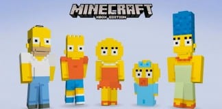 Los Simpsons en Minecraft