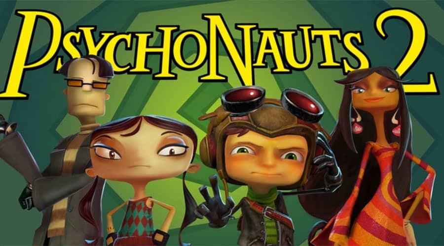Psychonauts 2 - portada