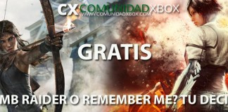 Tomb Raider y Remember Me Xbox 360