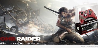 Mando Edición Limitada Tomb Raider para Xbox 360