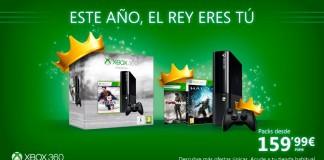 Ofertas Xbox 360 para Reyes