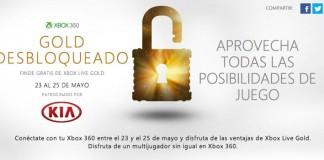 fin de semana de Xbox Live GOLD gratis
