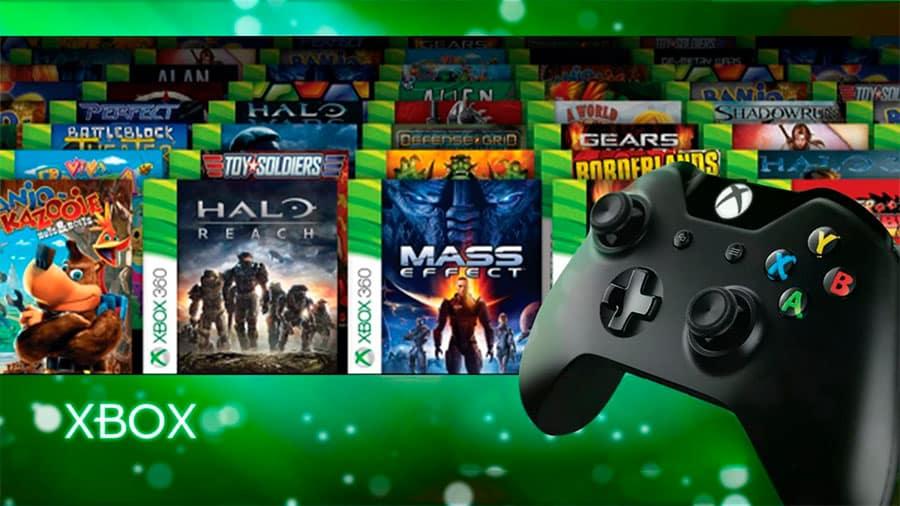 Juegos retrocompatibles de Xbox 360 en Xbox One